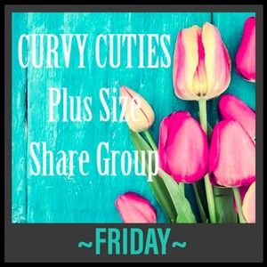 Tops - 5/24 (CLOSED) PLUS SHARE GROUP: Curvy Cuties